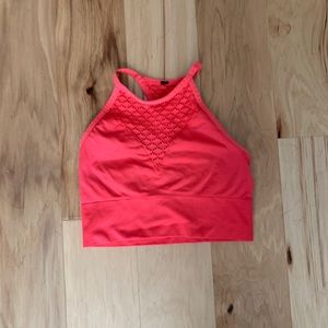 {Betsy Johnson Cropped Sports Top}
